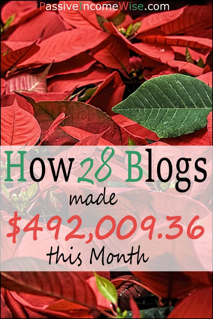Today I'm showing to you how 28 blogs made $492,009 this month. You will learn how much each of them they made, plus how they did it. This is a complete resource for motivation and inspiration!