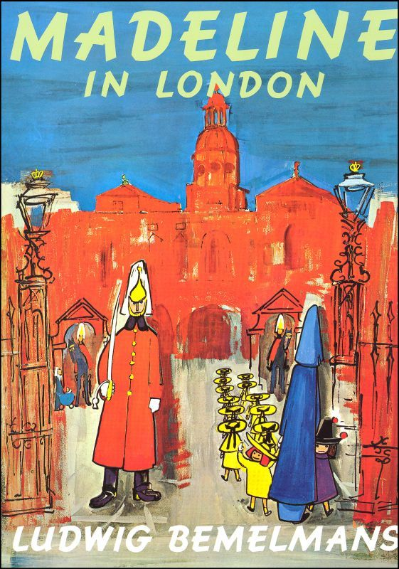 Madeline in London - 10 Children's Books to Inspire Travel