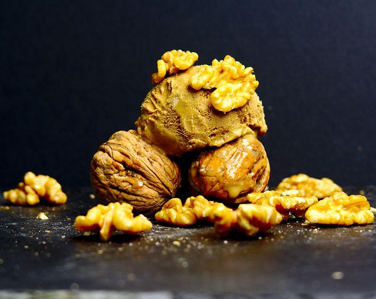 Xeado de noces. Helado de nueces. Ice cream of nuts. #glutenfree