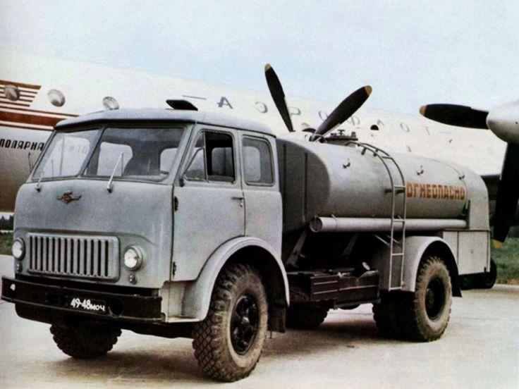 ТЗ-500 на базе МАЗ-500АШ '1964–93