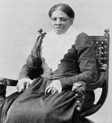 Harriet Tubman, guide of the Underground Railroad