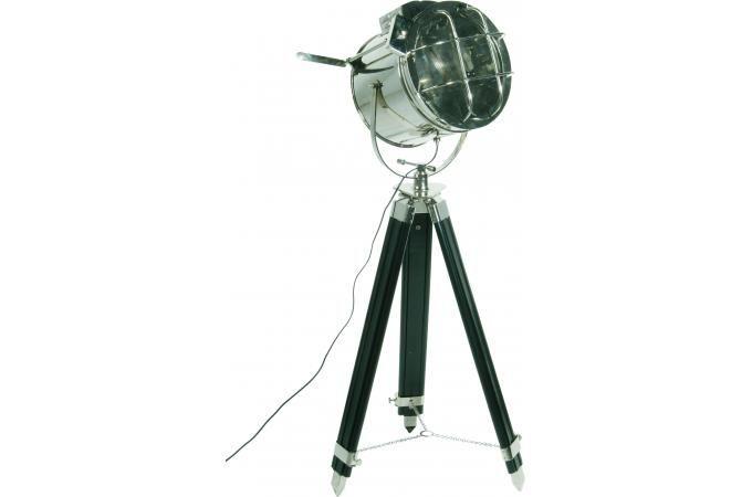 Lampadaire Declikdeco, achat Lampadaire Kare Design argenté laiton metropolis Light pas cher prix promo Declik Deco 399.00 € TTC.