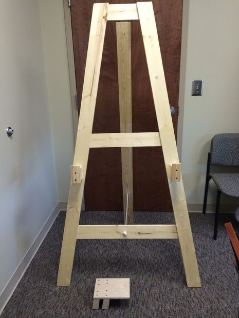 Easel Tv Stand Plans - WoodWorking Projects & Plans