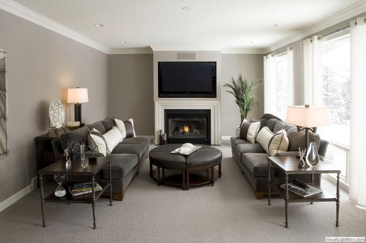 clean living room.