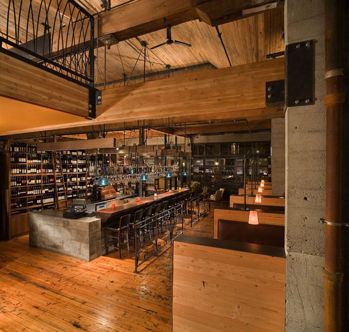 Osteria la spiga restaurant by graham baba architects