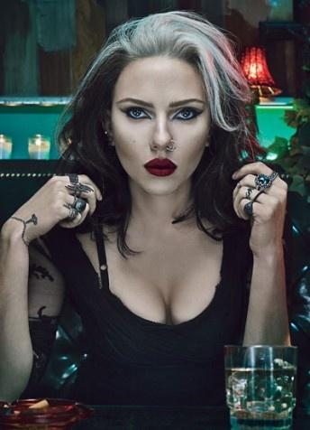 Scarlet Johansson covers at W magazine 40th Anniv.