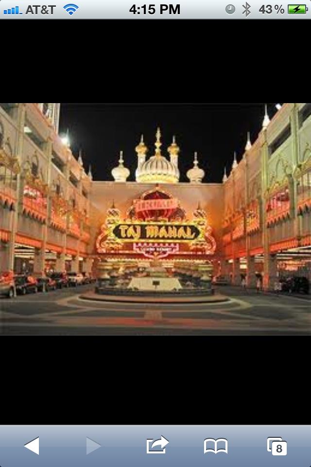 Trump Taj Mahal... Amazing Hotel
