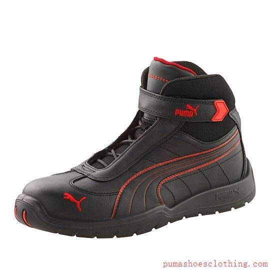 S3 hro moto protect safety shoes black-red pu89048201,puma t shirts,puma shoes for sale,online leading retailer, puma sneakers for sale 100% top quality