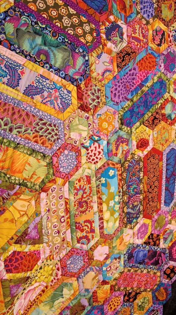 Zomerse Dag (Summer's Day) by Lilija Kostenko (Netherlands). Second Place - Novice at the 2012 Open European Quilt Championships. Photo by The Plaid Portico