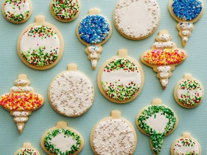 Classic Sugar Cookies - These are the familiar cookies with crispy edges and a slightly soft middle. Superfine sugar gives them their crunchiness. The small amount of baking powder ensures that they puff just a little without spreading too much and losing their shape. | Food Network