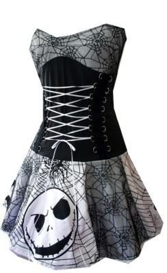 The Nightmare Before Christmas dress