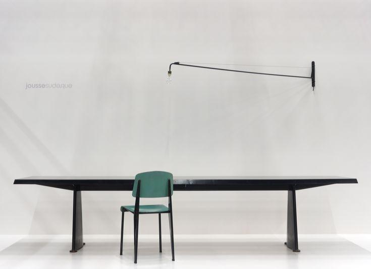 JEAN PROUVÉ TABLE TRAPÈZE 330 x 70 x 73 cm