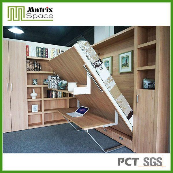 Murphy lit bureau, tirer vers le bas lit escamotable, lit mural-en Literie depuis Mobilier de chambre à coucher sur m.french.alibaba.com.