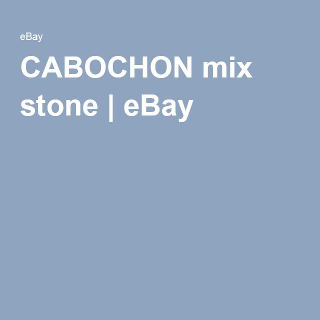 CABOCHON mix stone | eBay