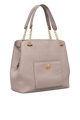 355fbe7f2cf Grey Chelsea Slouchy Tote by Tory Burch Accessories w
