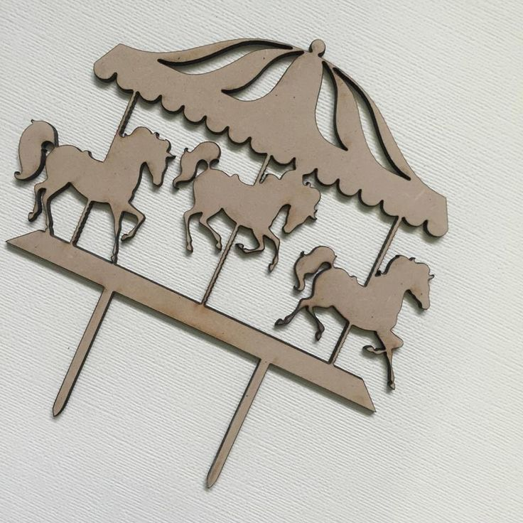 Carousel Cake Topper - Horses Carnival Birthday Cake Topper Cake Decoration Cake Decorating by SugarBooBespokeGifts on Etsy https://www.etsy.com/listing/268397169/carousel-cake-topper-horses-carnival
