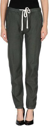 JAMES PERSE STANDARD Casual pants - Shop for women's Pants - Military green Pants