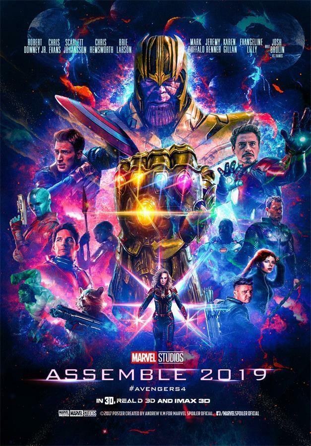 Movie Posters Endgame