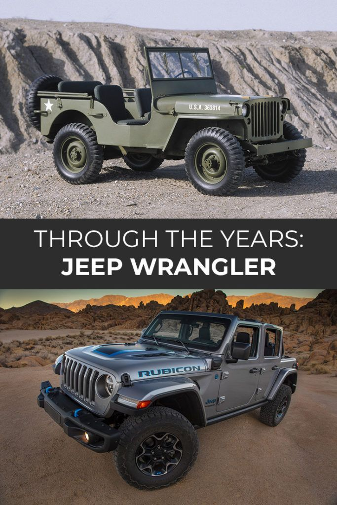Jeep Wrangler Through The Years Jeep Wrangler Suv Brands Jeep
