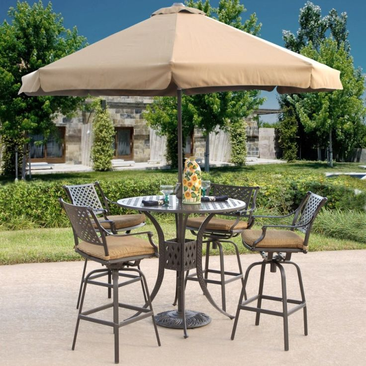 dining room drop dead gorgeous outdoor decoration using round brown metal iron bar source furniture napa side