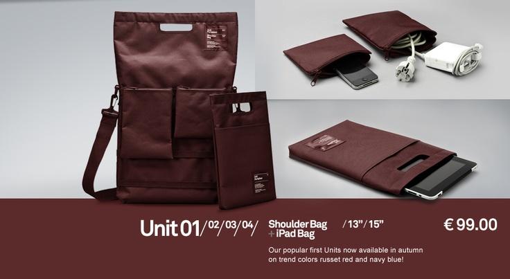 Unit 01—04 Tasche for WORK