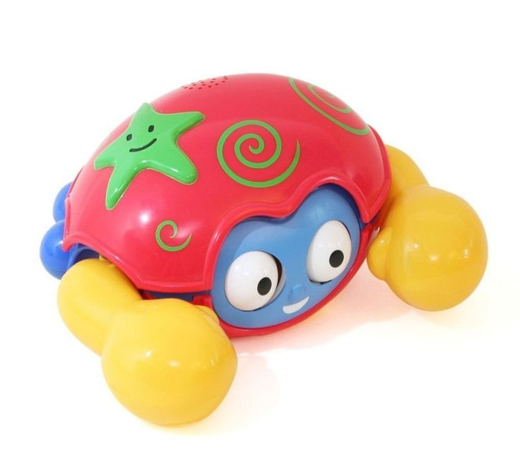Kidz Delight Push N Go Crab, Red/Yellow (Discontinued by Manufacturer)