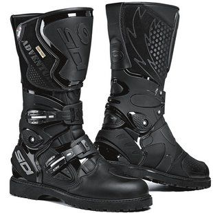 SIDI Adventure Gore-Tex Boots - RevZilla A bit expensive but one of my favorites.
