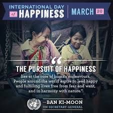 True happiness is setting a smile on others face. A Press to Supress your Pain! Happy International Day Of Happiness. www.niyateefoundation.org