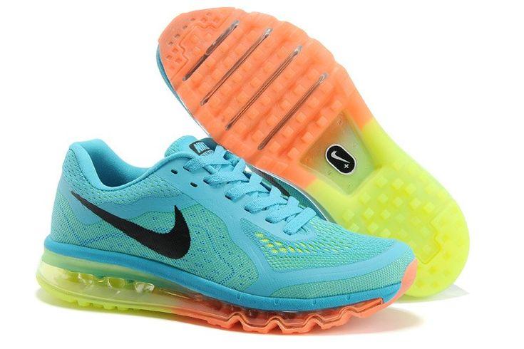 Nike Air Max 2014 Femme Chaussures Arc en ciel La Vente De Sortie
