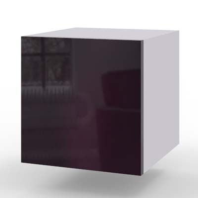 fiolet połysk - akryl
