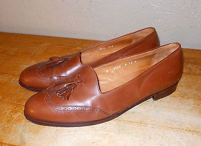 POLO Ralph Lauren Penny LOAFERS Men size 12 D Black Leather Slip On Shoes Italy