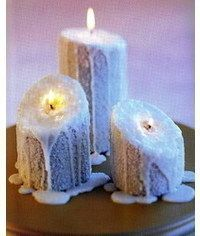photo Candles cake tutorial