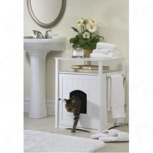 How to hide a cat's toilet - clever!