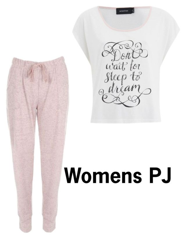 """""""WOMENS PJ"""" by makeupbawse on Polyvore featuring MINKPINK"""