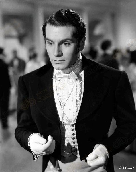 Laurence Olivier's Darcy in Pride and Prejudice (1940)