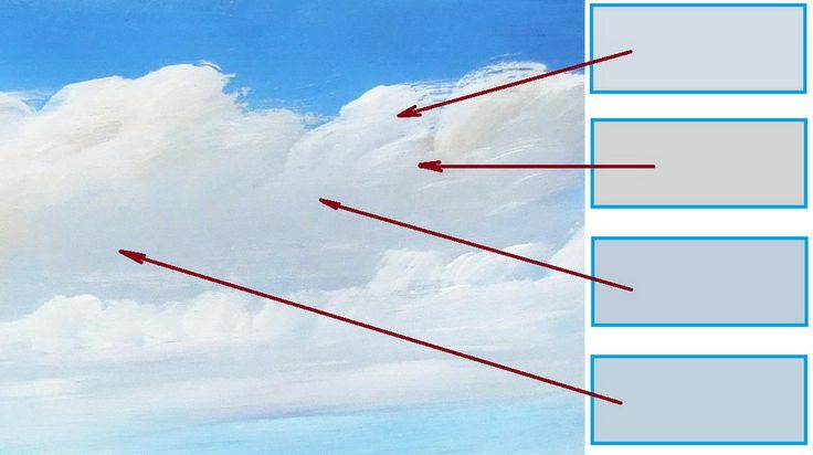 ~How to paint clouds in oil or acrylic video lesson~  #howto  #arthelps