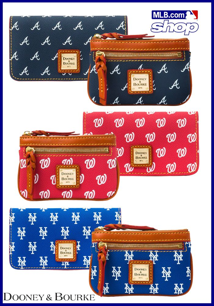 But seriously, how cute are these Dooney & Bourke wallets? Visit the MLB Online Shop now to browse!