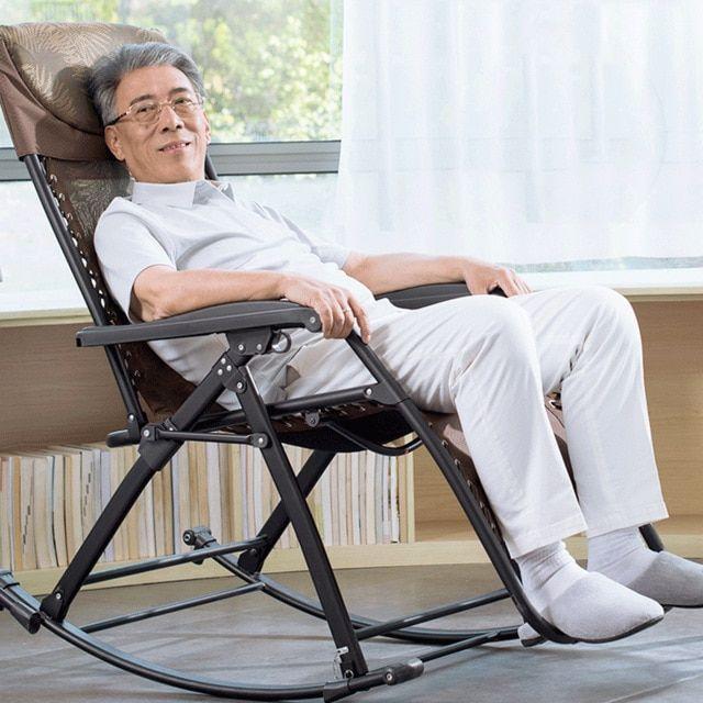Zero Gravity Rocking Chairs Lounge Patio Chairs Recliner Elderly Balcony Chair Outdoor Yard Beach Review Balcony Chairs Rocking Armchair Patio Chairs