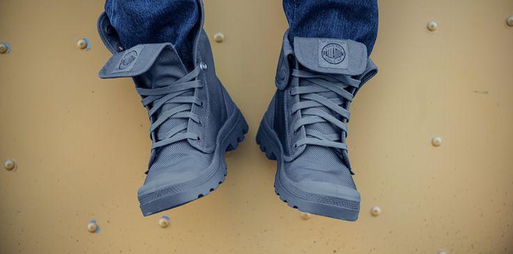 BALLISTIC NYLON MONOCHROME II | Palladium Boots
