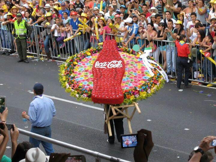 Silleta. Coca cola