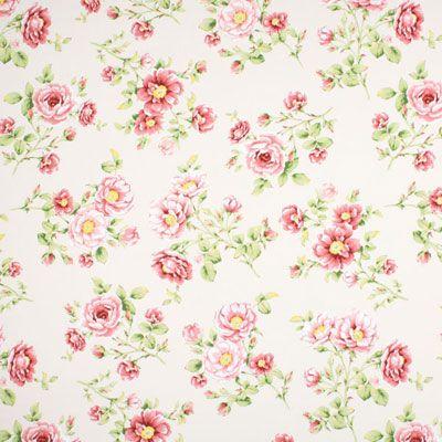 Rose Chaville 2 - Polyester - Bomull - gammalt rosa