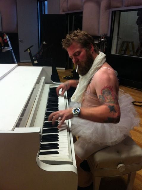 Ryan Dunn Love this picture of him!  You can play all night and day for me