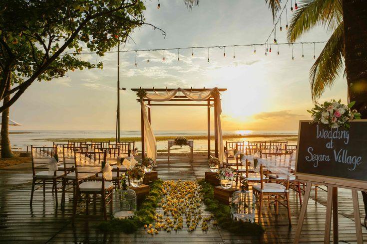 Foto gedung pernikahan oleh Segara Village Hotel