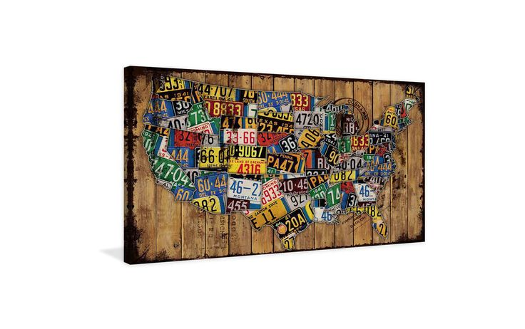 Marmont Hill Classic Plates Print on Canvas