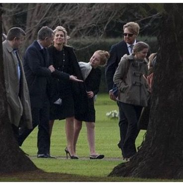 Dutch Royal at Queen Maxima father Funeral