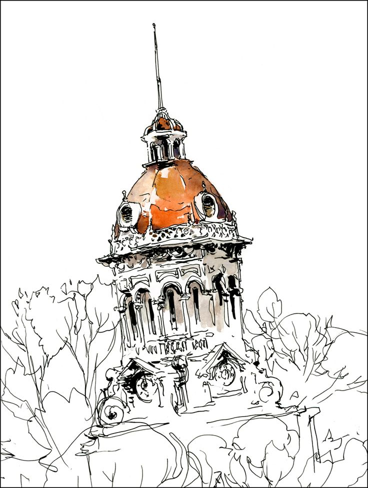 Precarious - From the archives of Urban Sketchers