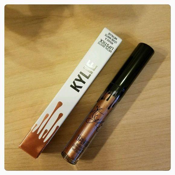 Kylie Jenner Metal Matte Liquid Lip KING K NIB Brand New In Box - FIRM ON THIS SITE Kylie Cosmetics Makeup Lipstick