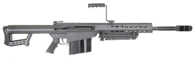 "Barrett 82A1-CQ 50 BMG w/ 20"" Fluted Barrel Black... Barrett # 13318"