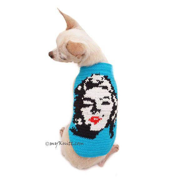 183 best ropa tejida para mascotas images on Pinterest | Dog apparel ...