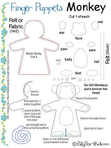 Best 25+ Finger puppet patterns ideas on Pinterest
